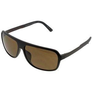 c0d52818277e PORSCHE Accessories - P8554-D Rectangular Men s Grey Frame Sunglasses